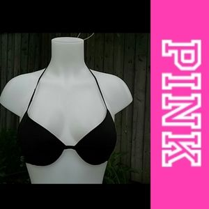 4/$15 Size M Black bathing suit top by VS Pink